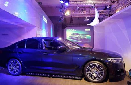 BMW 5er Präsentation