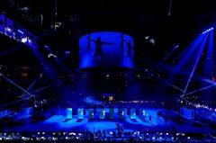 LED-Show EHF Final Four Köln